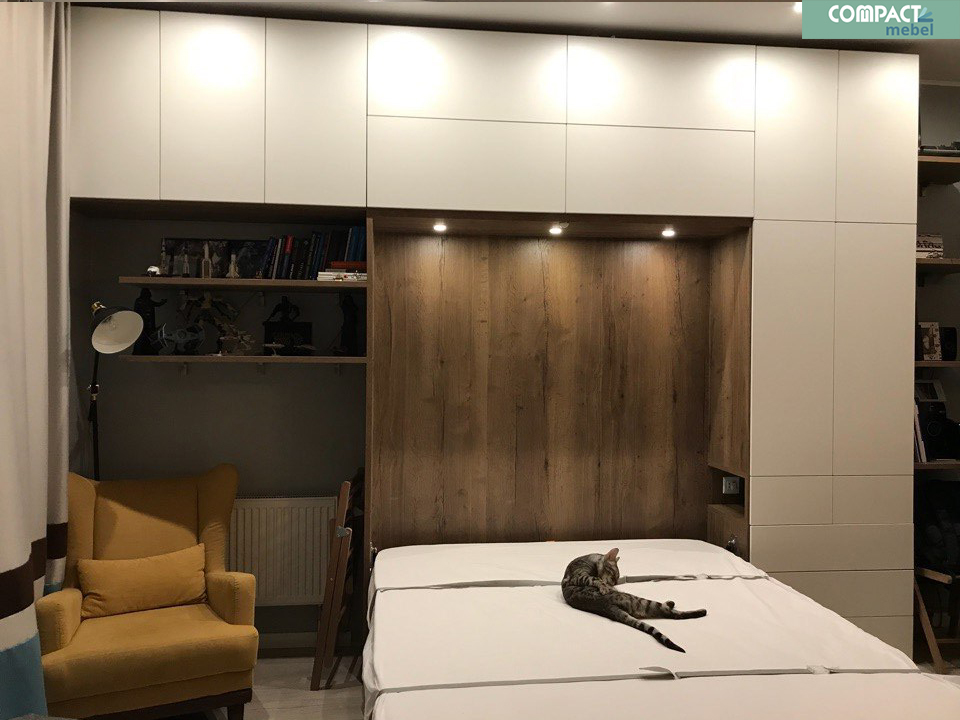 Комплексное решение для квартиры студии 32 м2 в г.Москве