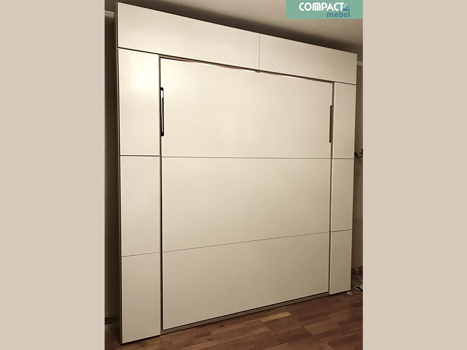 Шкаф-кровать BSS11 в однокомнатной квартире