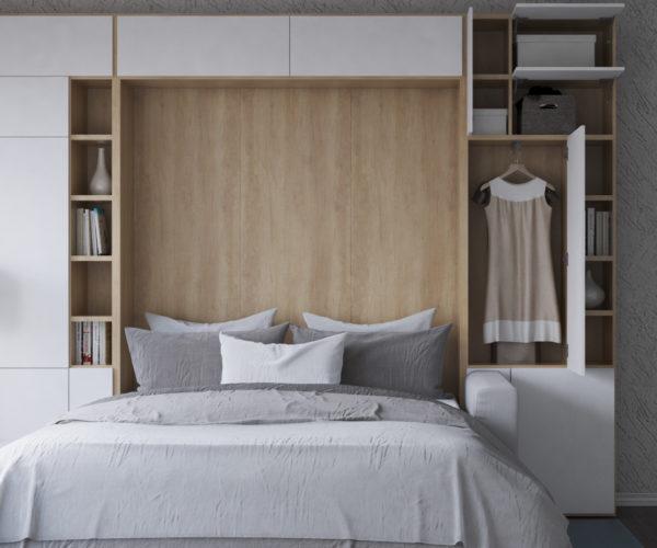 Шкаф-кровать 3 в 1