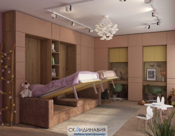 шкаф кровать 3 в 1