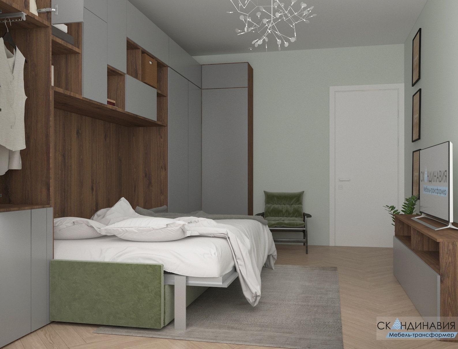 Преимущества кровати-трансформера